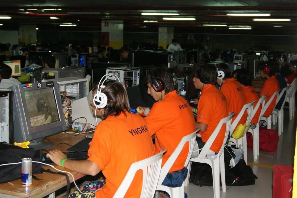 """XLPARTY MAIA 2010 - Portugal """"Simulador de Voo!!"""" 0045"""