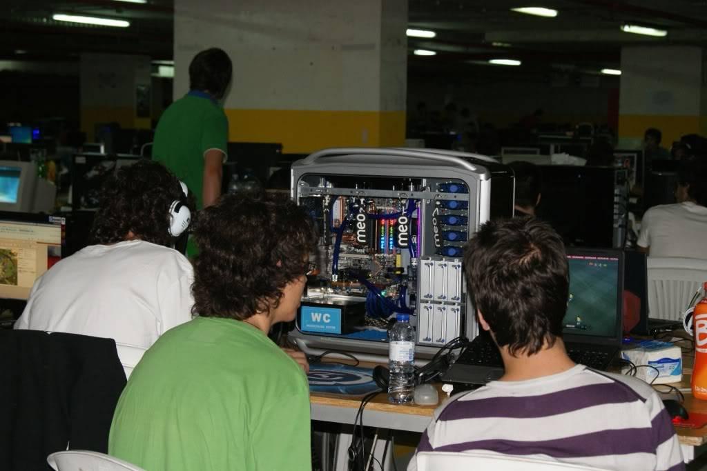 """XLPARTY MAIA 2010 - Portugal """"Simulador de Voo!!"""" 0047"""