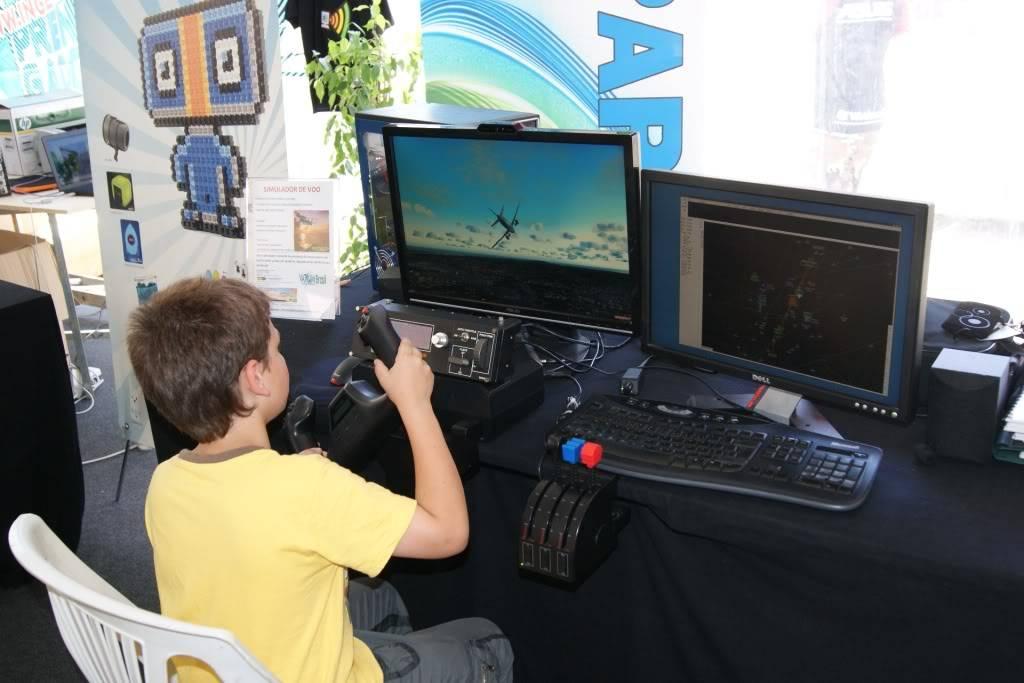 """XLPARTY MAIA 2010 - Portugal """"Simulador de Voo!!"""" 0048"""