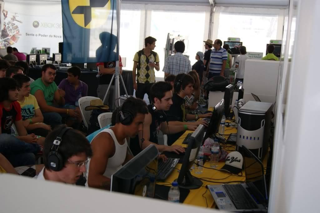 """XLPARTY MAIA 2010 - Portugal """"Simulador de Voo!!"""" 0053"""
