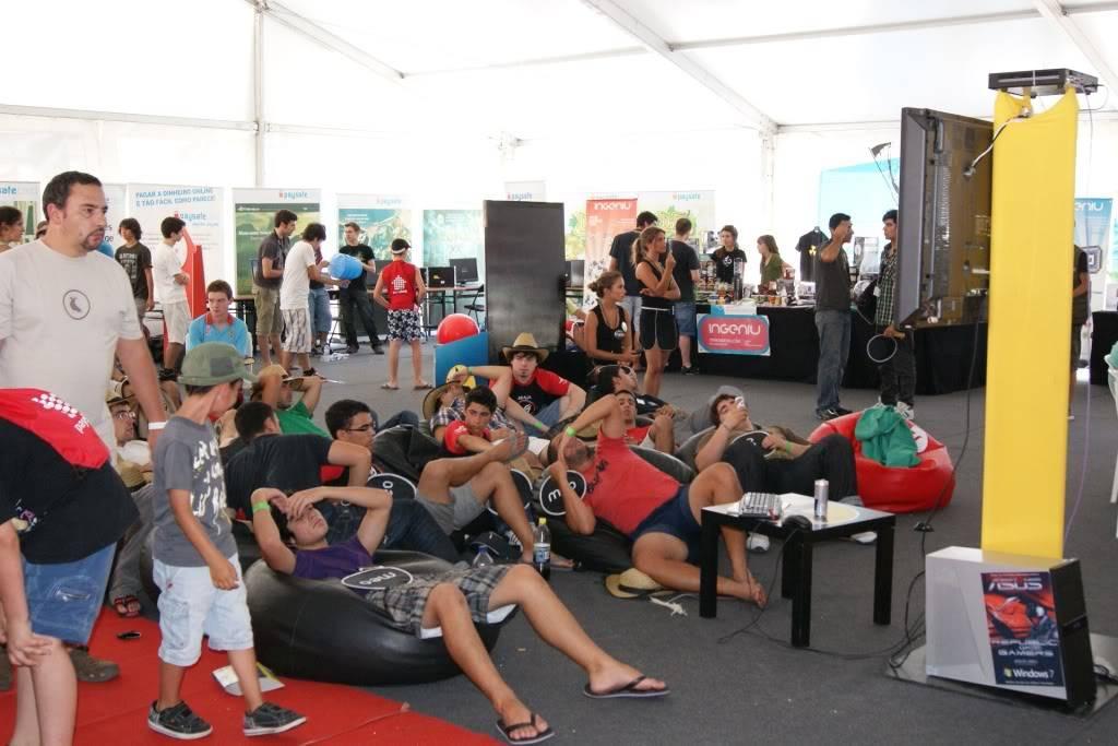 """XLPARTY MAIA 2010 - Portugal """"Simulador de Voo!!"""" 0055"""