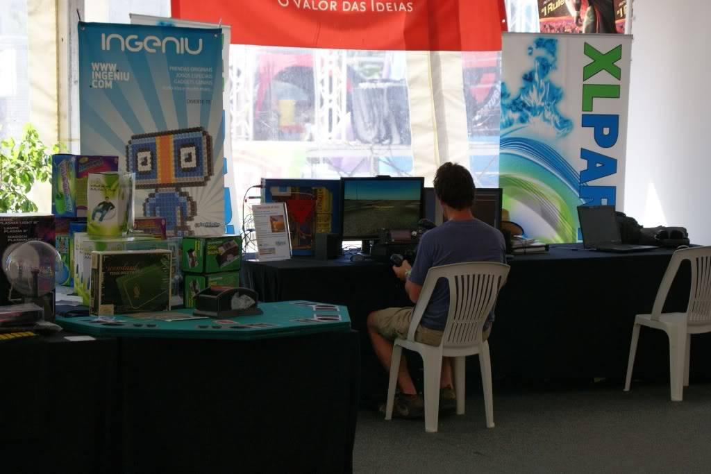 """XLPARTY MAIA 2010 - Portugal """"Simulador de Voo!!"""" 0060"""
