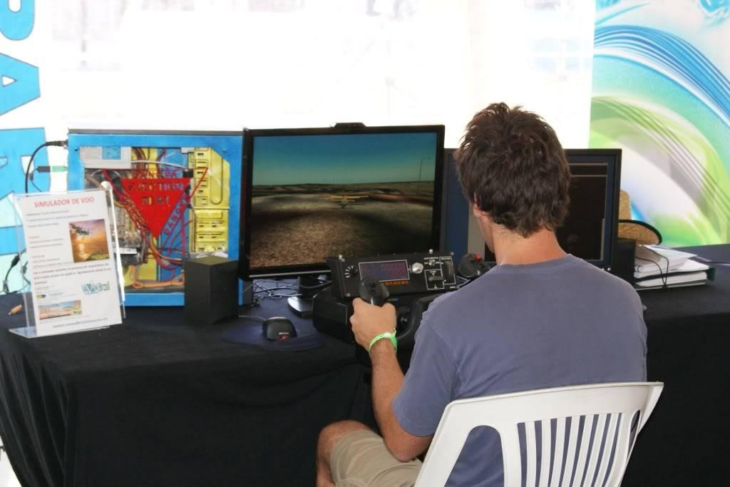 """XLPARTY MAIA 2010 - Portugal """"Simulador de Voo!!"""" 0061"""