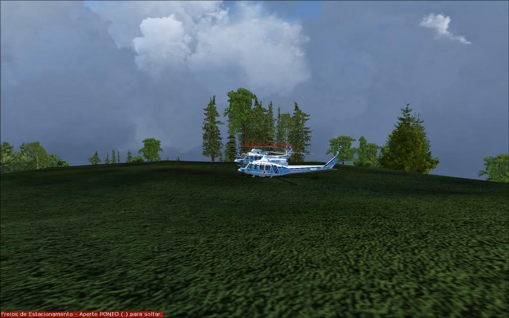 [FS2004] Voando com os amigos... 0007