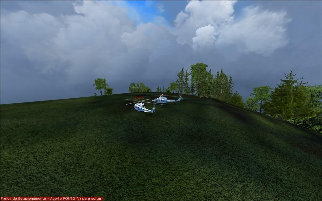 [FS2004] Voando com os amigos... 0008
