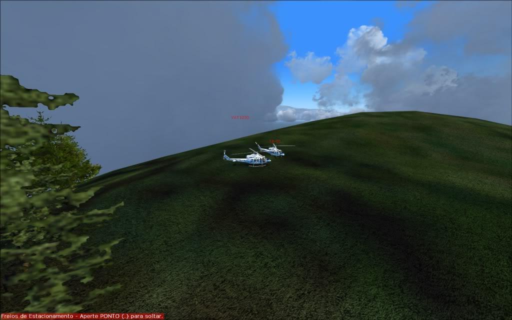 [FS2004] Voando com os amigos... 0009