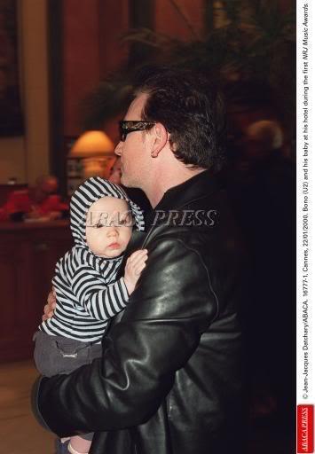 U2 and family Bonoeli-1-1