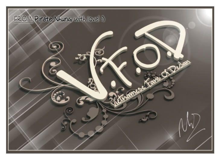 [Art] 3D logo - Quà tặng cả nhà!! :) Logo3d