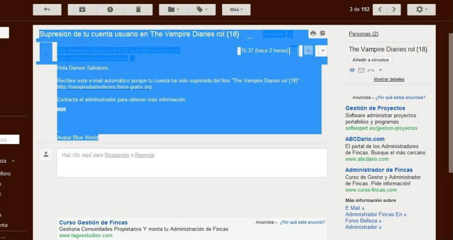 Plagio a The Vampire Diaries Rol Banneocuenta2-1