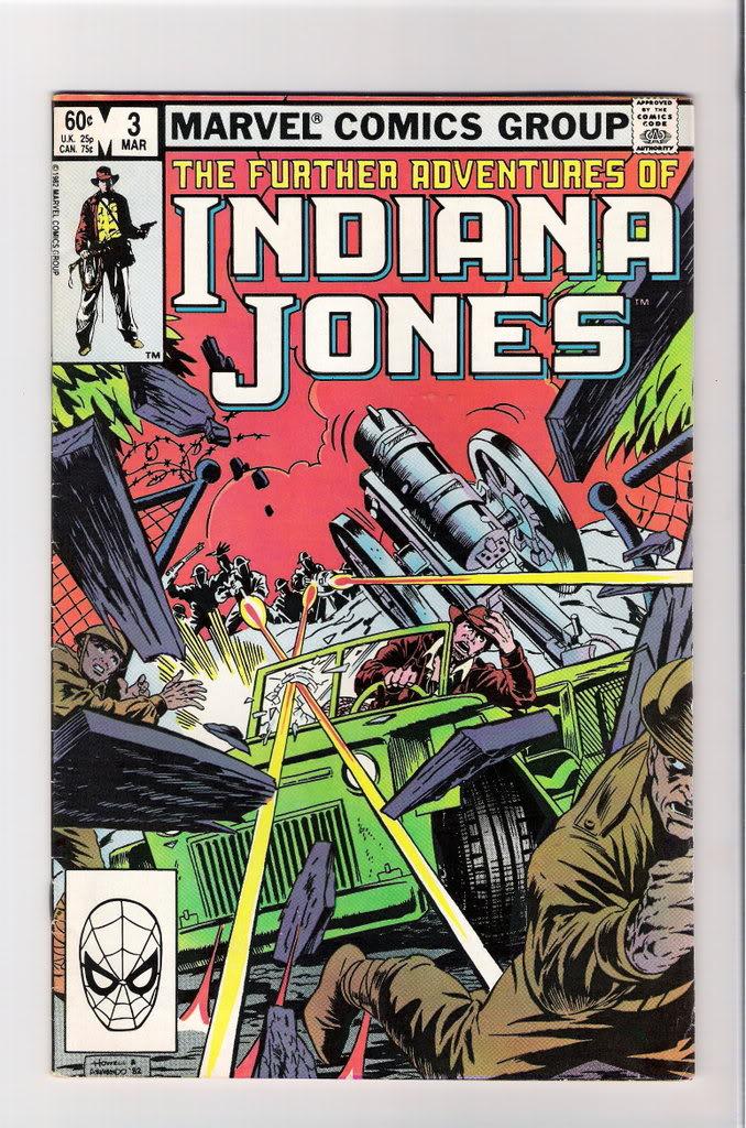 Indiana Jones(Indijana Džons) Stripovi Furtheradventuresofindianajones3