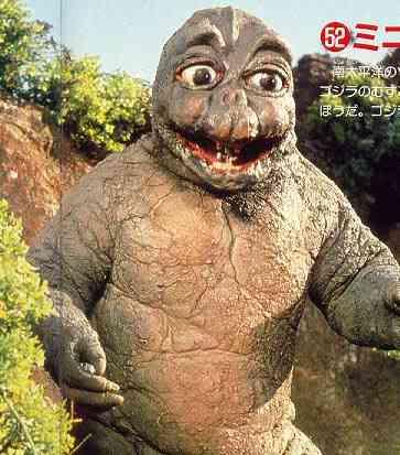 So I'm gonna watch the Godzilla movies Minilla