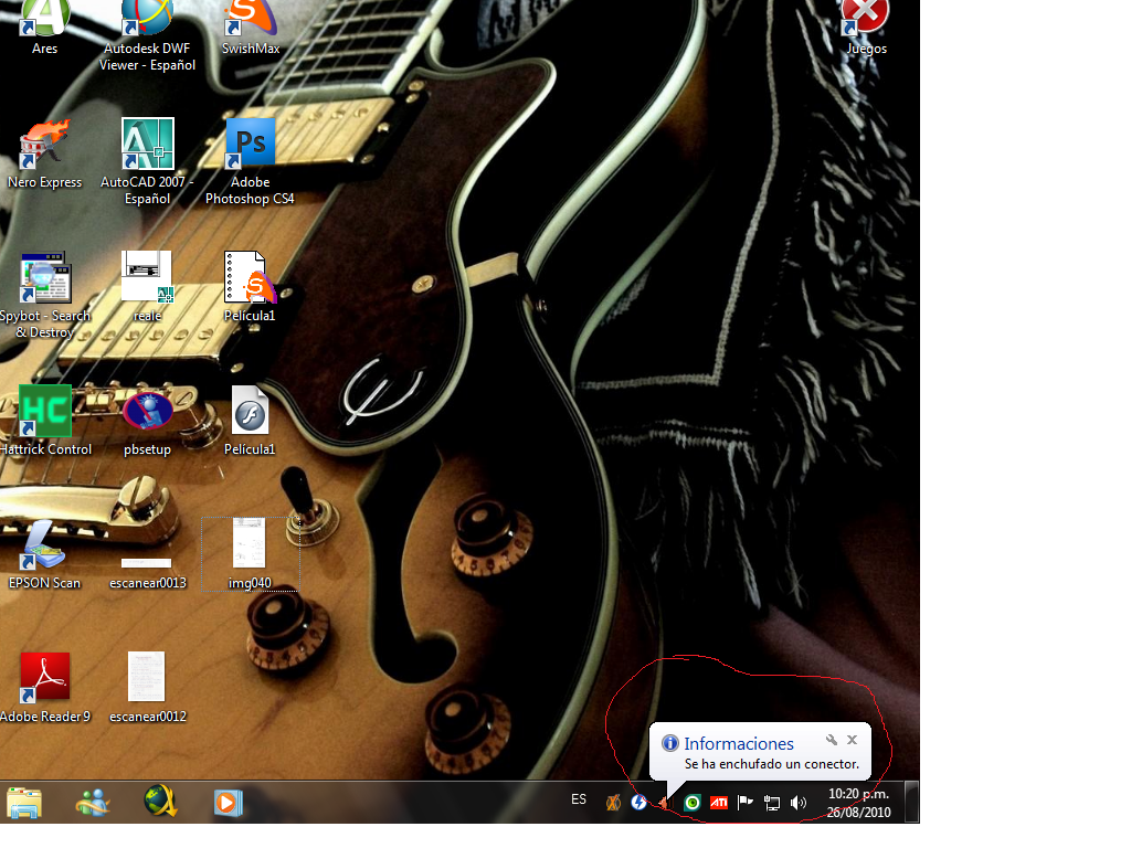Problema con Microfono Windows 7 Sinttulo