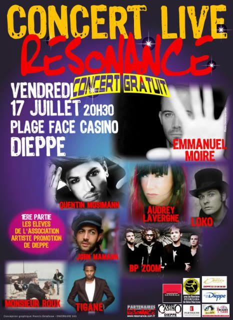 [ 17.07.09] Plateau RESONANCE 21h Affiche-Dieppe-17juil2009-6