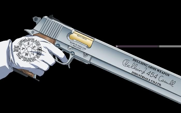 Shinigami Akado Alucard_gun