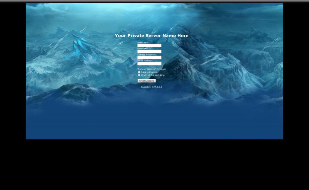 Site WOTLK Register