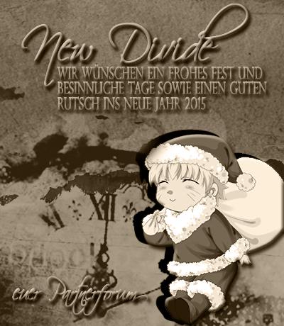 Weihnachtsgrüße aus dem New Divide Naruto RPG