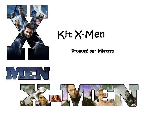 Kit X-men