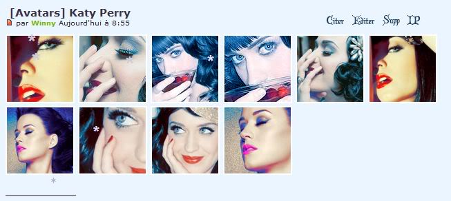 Avatars Katy Perry