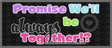 توقيعات حب متحركه....رووووووعه فى الجمال Promise_together