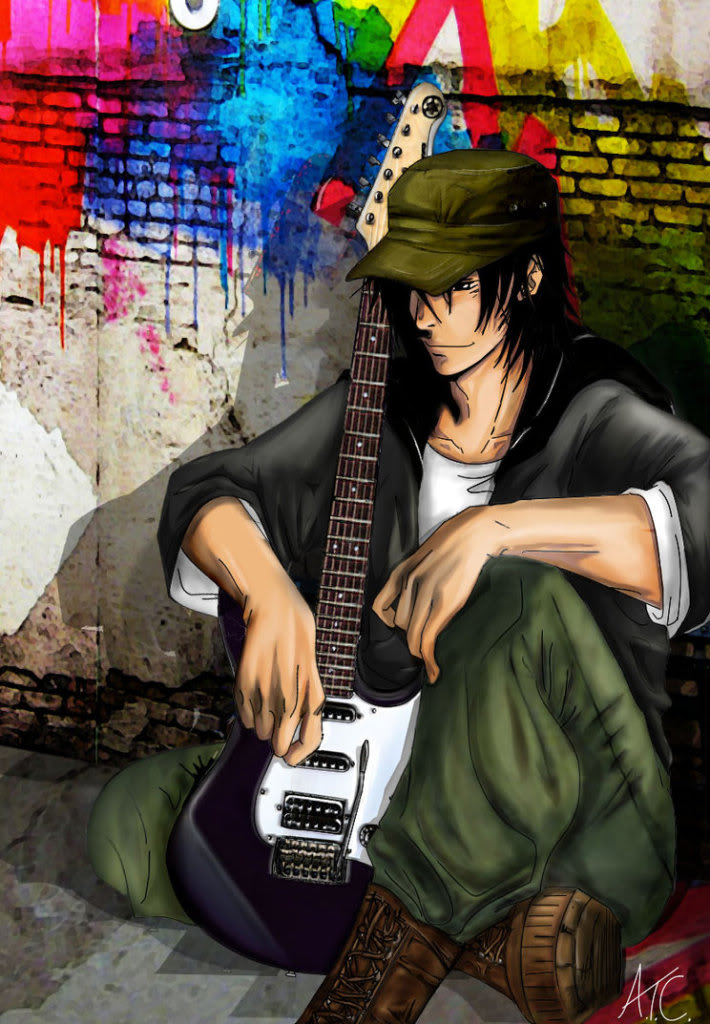 Kanashi Ushimagu FINISHED Vizard blah blah blah... Guy_with_guitar_by_ChobitX
