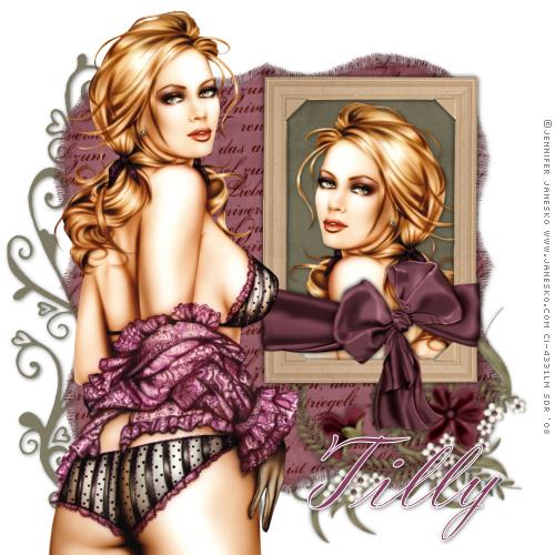 ♥ THE GORGEOUS ARTWORK OF JENNIFER JANESKO ♥ SKChallenge_8-09_Tilly