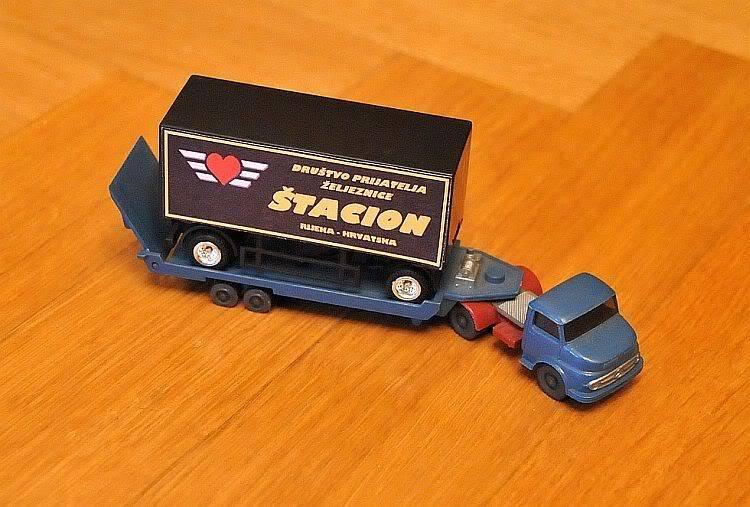 """Promotivni kamion DPŽ-a """"Štacion""""! ;-) 277-083"""