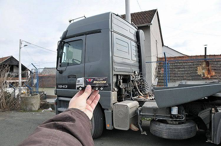 """Promotivni kamion DPŽ-a """"Štacion""""! ;-) 278-013"""