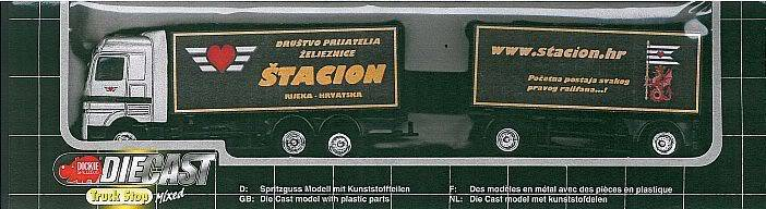 "Promotivni kamion DPŽ-a ""Štacion""! ;-) Actros"