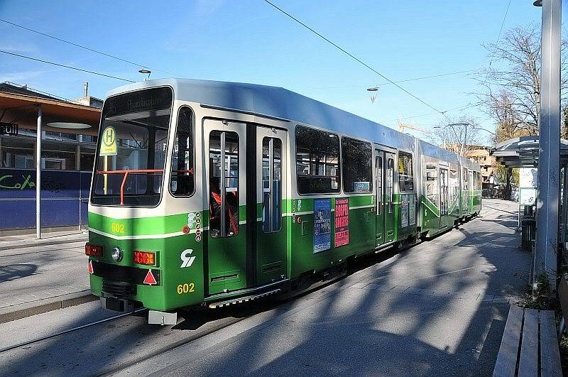 Holding Graz Linien ili Tramvaji u Grazu 307-073