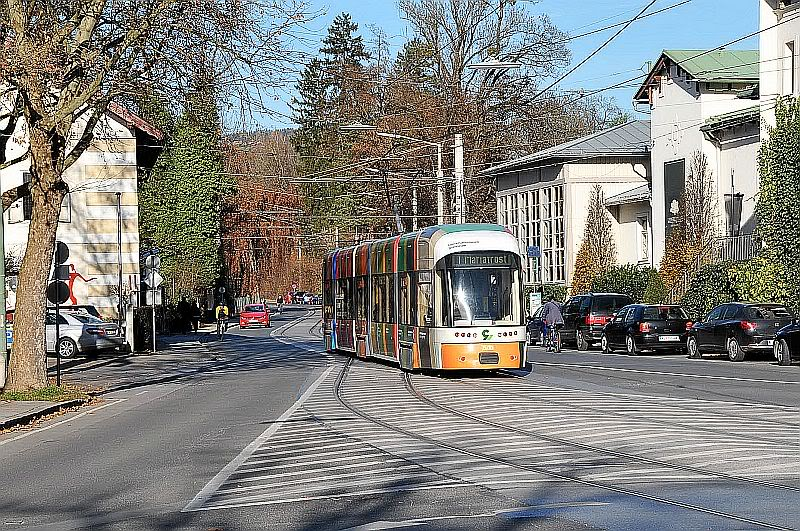 Holding Graz Linien ili Tramvaji u Grazu 307-081