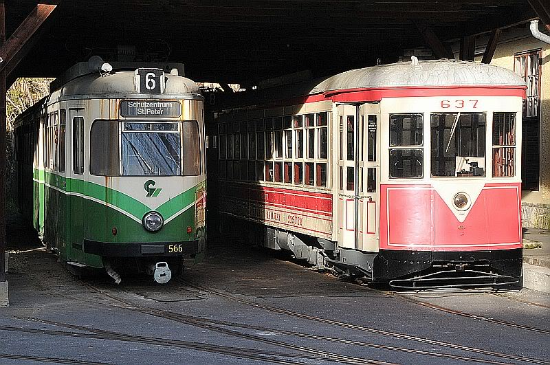 Holding Graz Linien ili Tramvaji u Grazu 307-107