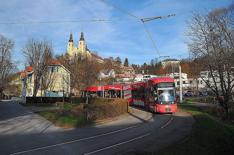Holding Graz Linien ili Tramvaji u Grazu 307-111