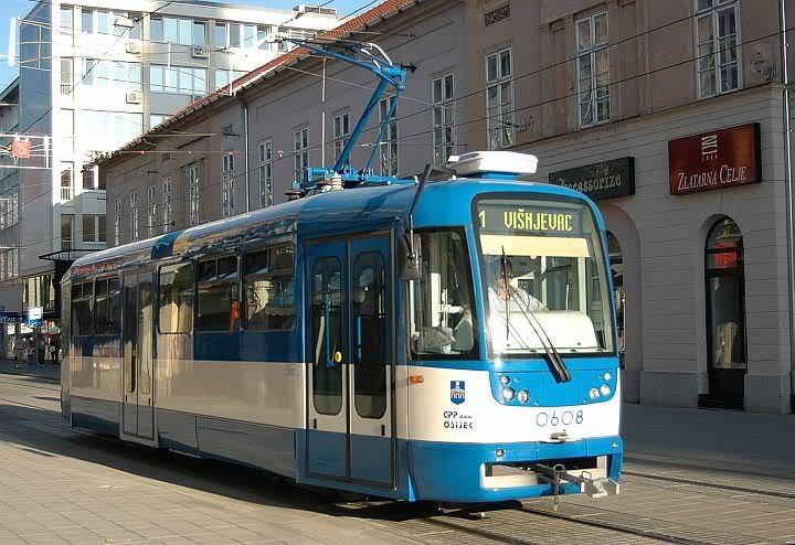 Tramvaj u Osijeku 720OS6