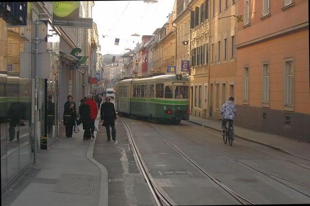 Holding Graz Linien ili Tramvaji u Grazu Jakominigassetramvaj
