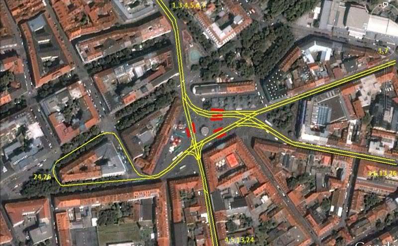 Holding Graz Linien ili Tramvaji u Grazu Jakominiplatz-1