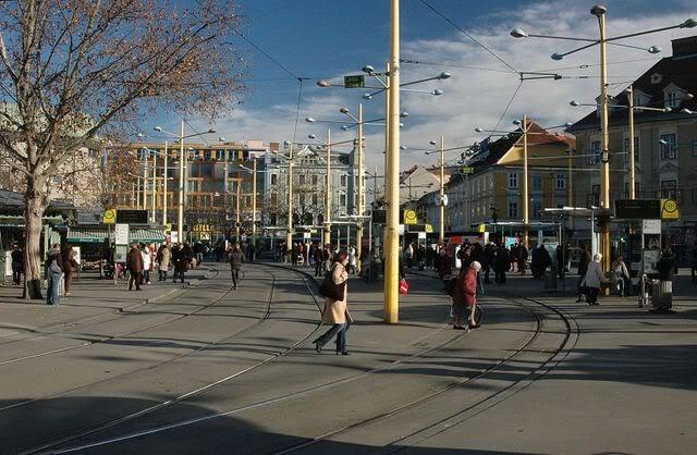 Holding Graz Linien ili Tramvaji u Grazu Jakominiplatz