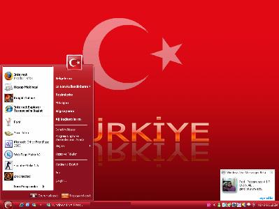 1. Türkiye'ye Özel Türk Xp Teması Trtema-1