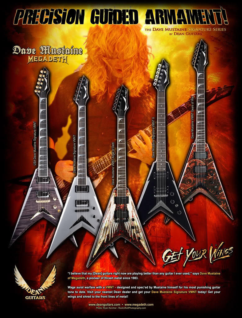 Musical Instruments You Wish You Had Dave-mustaine-guitars