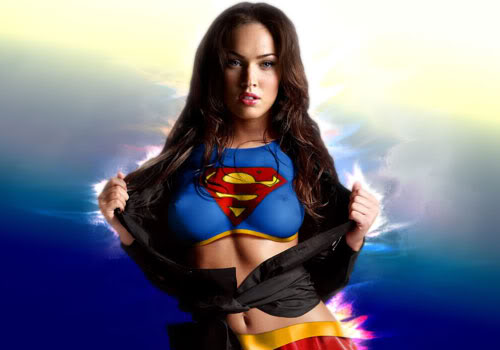 Le paradis de la jungle !  Megan-fox-supergirl