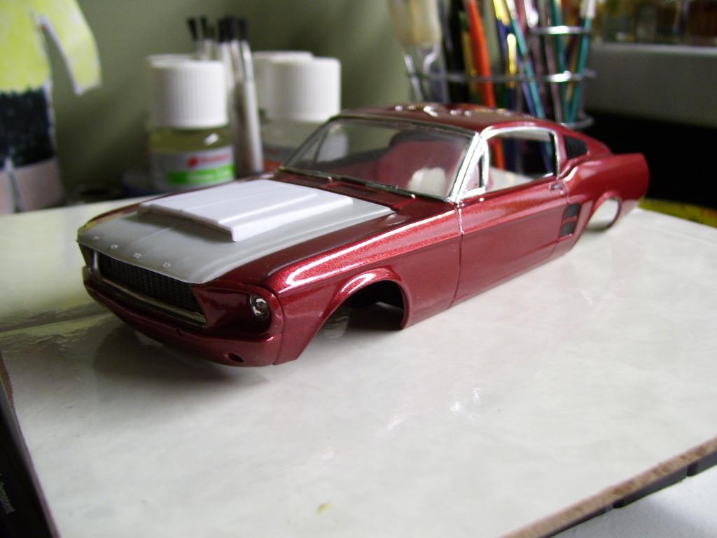 Mustang Fastback 67 1340846743