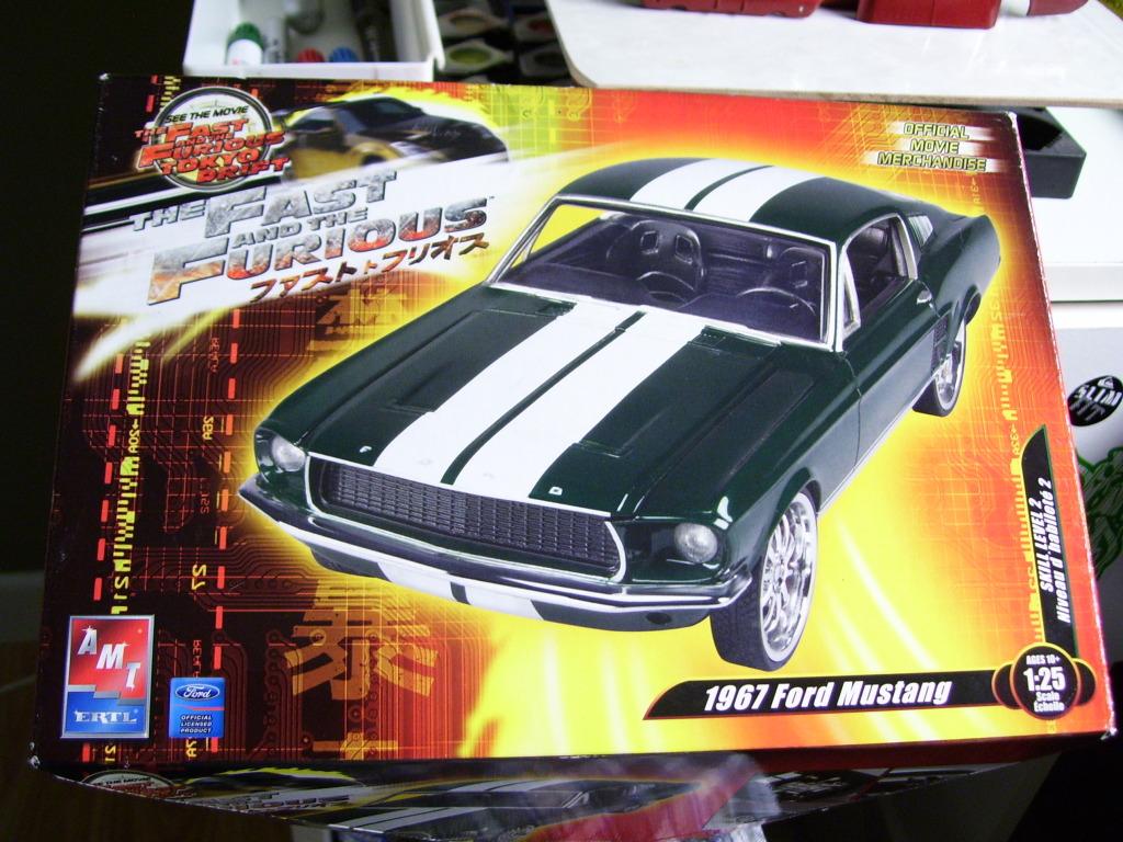 Mustang Fastback 67 1340847021