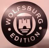 Pegatinas de Volkswagen Wolfsburgedition