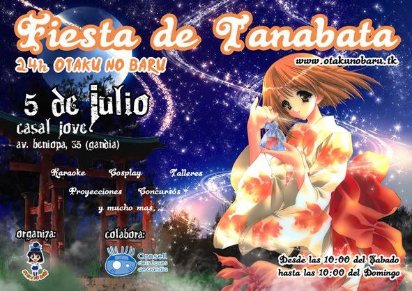5 de Julio Fiesta Tanabata en Gandia (Valencia) CARTE24hmaspekein