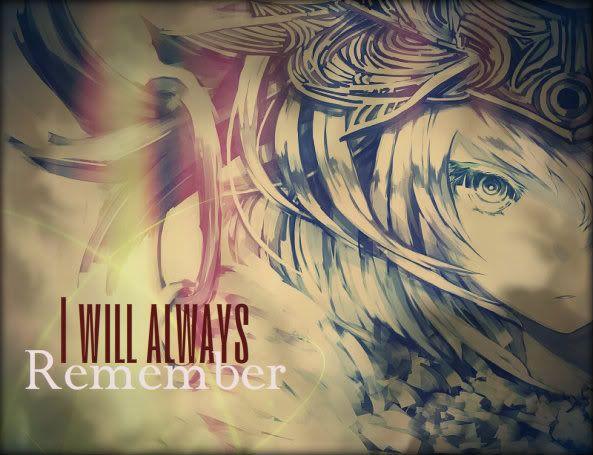 ♦I will always remember♦ MusoComet6001164297lll