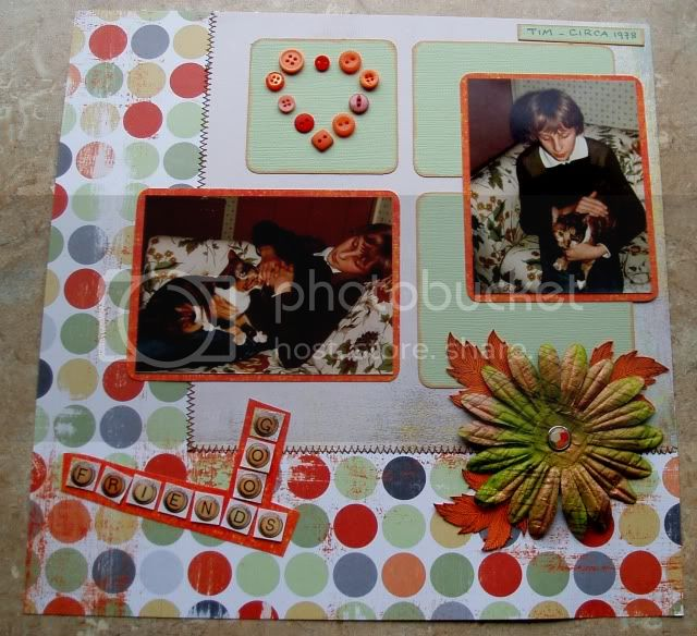 Tina's February Scraplift Challenge TinasFebscraplift