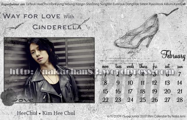 Calendar of Suju SJ-Feb-1