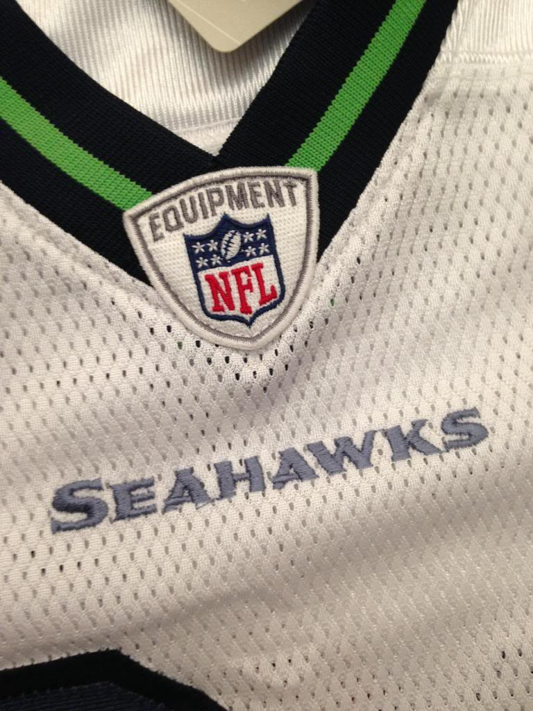 First time... Real Seattle Seahawks Marshawn Lynch Jersey? Image-26