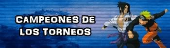 CAMPEONES DE LOS TORNEOS