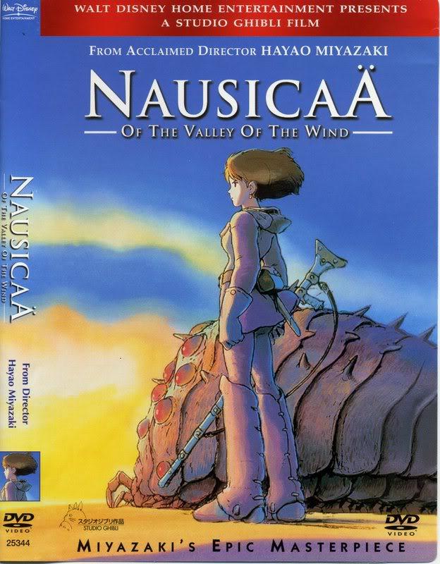 studio ghibli - [Ghibli] Nausicaä de la Vallée du Vent NausicaaDVD