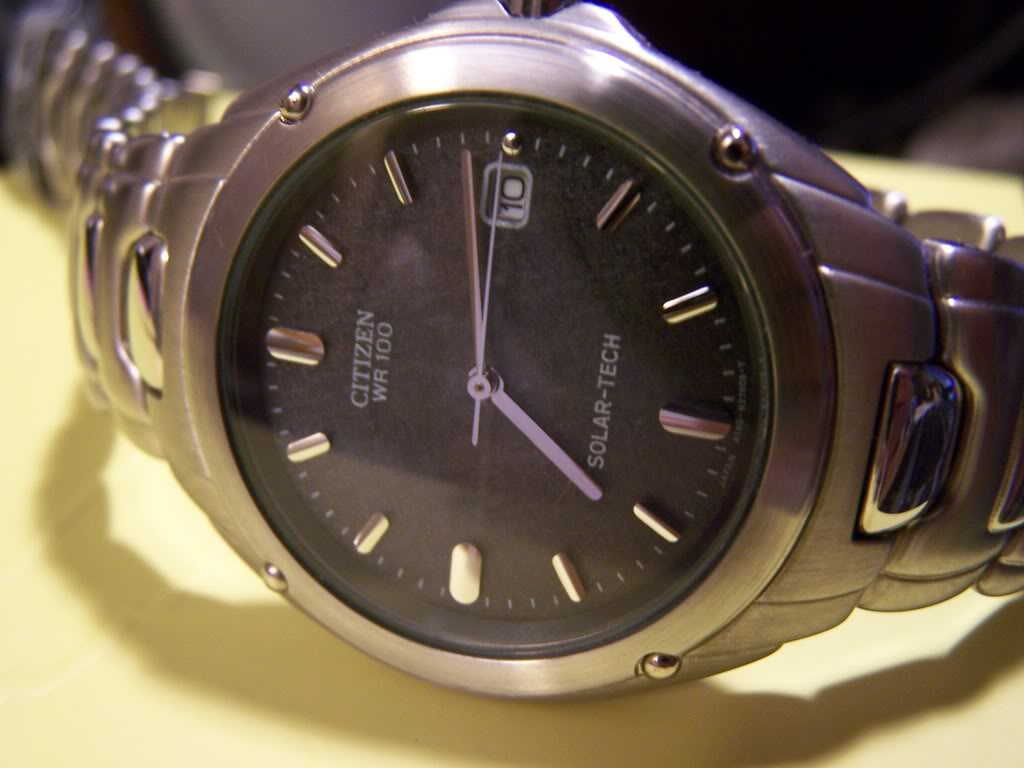 What are you thoughts on Citizen watches? Solar001